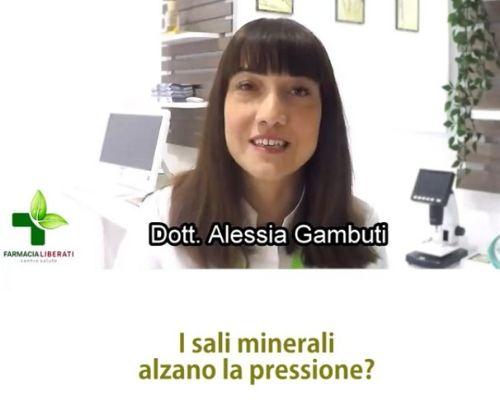 sali minerali e pressione
